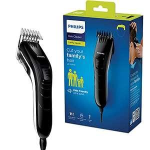 Tondeuse à cheveux Philips QC5115/15 - 11 Réglages de Longueur, Lames en Inox, Fonctionnement sur Secteur