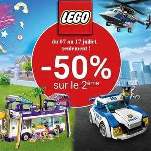 50% de réduction sur la 2ème boîte Lego achetée - Béziers Géant (34)