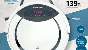 Aspirateur robot Silvercrest - 0.8kPa, 20W
