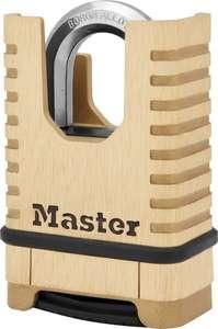 Cadenas à combinaison MASTER LOCK laiton -57 mm