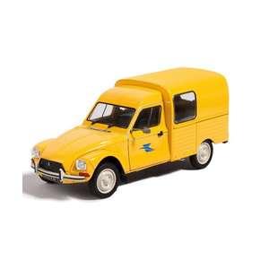 Voiture miniature modèle réduit Citroën Acadiane La Poste 1:18 1:18eme Solido