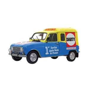 Voiture miniature modèle réduit Renault 4 R4 4L Darty 1:18 1:18eme Solido