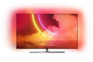 "TV OLED 55"" Philips 55OLED805 - 4K UHD, Smart TV, Ambilight + barre de son offerte"