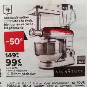 Robot pâtissier / Blender / Hachoir Signature KM140 DN