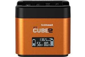 Station de charge 2 batteries photo Hahnel Procube 2 - Compatible Sony NP-BX1, NP-FW50 & NP-FZ100