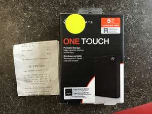 """Disque dur externe 2.5"""" Seagate One Touch (USB 3.0) - 5 To - Soustons (40)"""
