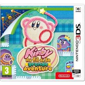 Kirby : Au fil de la grande aventure sur Nintendo 3DS (retrait magasin uniquement) - Barentin (76) et Nantes (44)