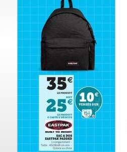 Sac à dos Eastpak Padded Pak'r - 40 cm, 24 L, Coloris au choix (via 10€ sur la carte fidélité)