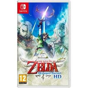 The Legend Of Zelda : Skyward Sword HD sur Nintendo Switch (via reprise d'un ancien jeu parmi une sélection)