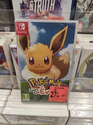 Pokémon Let's Go Evoli sur Nintendo Switch - Fontaine lès Dijon (21) / Saint-Martin-d'Hères (38)