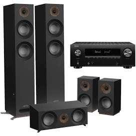Ensemble home-cinéma - Amplificateur Denon X1600H + Pack d'enceintes Jamo S807
