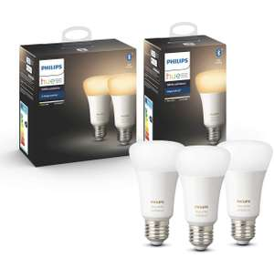 Lot de 3 ampoules Philips Hue White Ambiance - E27