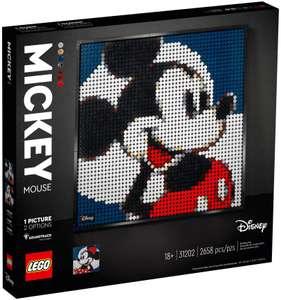 Tableau décoration murale en toile Lego Mickey (31202)