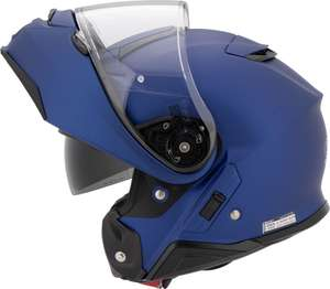 Casque moto modulable Shoei Neotec 2 - bleu mat (plusieurs tailles)