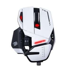 Souris optique Gaming filaire Mad Catz R.A.T. 6+ - Blanc