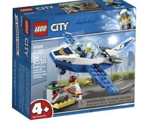 Jouet Lego City Le jet de patrouille de la police 60206 (Frais de port inclus)