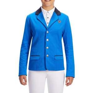 Veste concours équitation enfant Fouganza - bleu roi (12 ans)