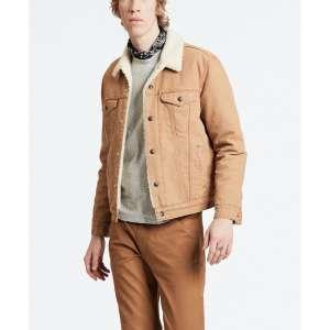 Veste en toile Levi's Canvas Trucker Sherpa pour Homme - Taille XL