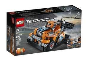 Sélection de Jouets Lego en promotion - Ex : Lego Technic - Le camion de course 42104 (Retrait magasin uniquement)