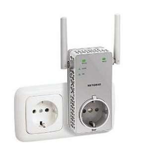 Répéteur Wi-Fi avec prise Netgear EX3800 - AC750 Dual Band