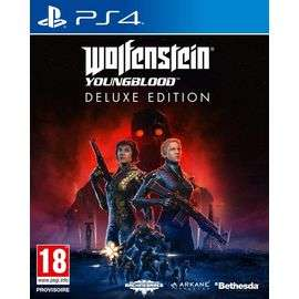Wolfenstein : Youngblood - Deluxe Edition sur PS4 (vendeur Cdiscount)
