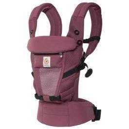 Porte bébé Ergobaby Adapt Cool Air Mesh - Couleur Plum