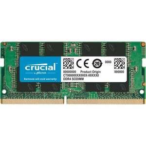 Barrette mémoire RAM Crucial CT16G4SFD8266 - 16 Go, Sodimm, DDR4, 2666 MHz, CL19
