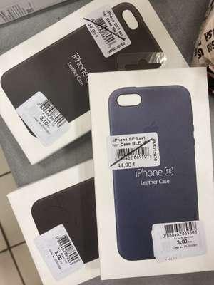 Coque Apple pour iPhone SE en cuir (Noir ou Bleu) - Aubenas (07)