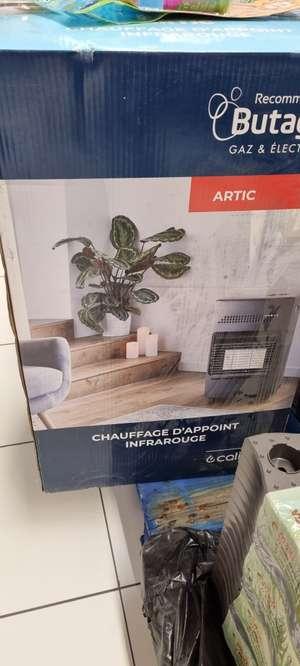 Poêle à gaz Artic - Saint-Brice-Courcelles (51)