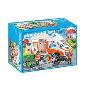 Jouet Playmobil City Life (70049) - Ambulance et Secouristes