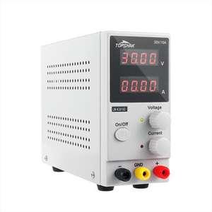 Alimentation de Laboratoire Topshak K3010D - 0 à 30V & 0 à 10A (Entrepôt Espagne)