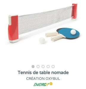 Tennis de table nomade Oxybul
