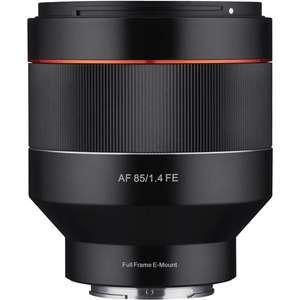 Objectif photo Samyang 85mm f1.4 AF monture sony