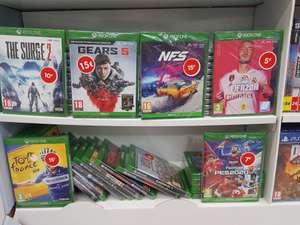 Sélection de Jeux PS4, Xbox One & Switch en promotion - Carrefour Claye-Souilly (77)