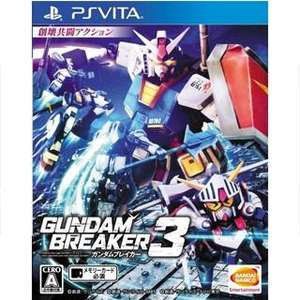 Gundam Breaker 3 sur PS Vita (Import Asie en Langue Anglais)