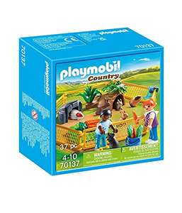 Jouet Playmobil - Enfants avec Petits Animaux - 70137