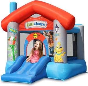 Aire de jeux gonflable Happy Hop Joy House (BJ9215)