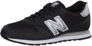 Chaussures New Balance 500 pour Homme - Black & Silver, Tailles 40 à 46.5