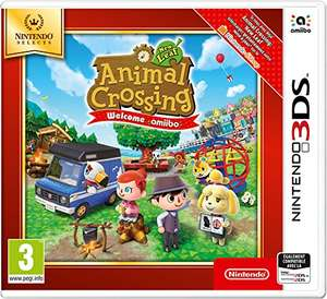 Animal Crossing: New Leaf -Welcome Amiibo sur Nintendo 3DS