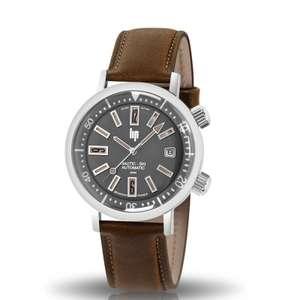 Sélection de montres en promotion - Montre automatique Lip Nautic-Ski Auto 671503 - 38mm (bijouterie-philipparie.fr)