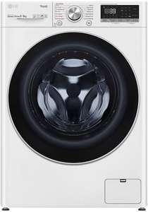 Lave-linge séchant LG ThinQ F964V71WRHT - 9/6 kg, Direct Drive, E/A (via ODR de 80€)