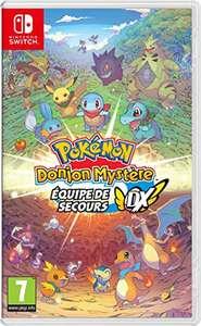 Pokémon Donjon Mystère Équipe de Secours DX sur Nintendo Switch
