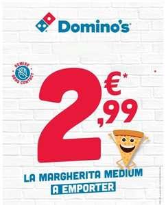 Pizza Medium Margherita à emporter - Domino's Pizza Montpellier Nord (34)