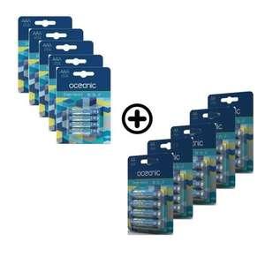 Sélection de packs de piles - Ex: 10 packs de 4 piles Alcalines LR03/AA 1.5V High-Tech