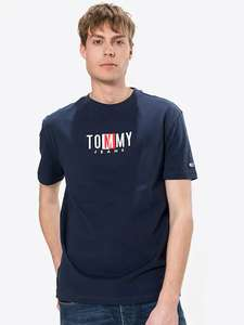 T-Shirt homme Timeless Tommy Jeans - Taille XS à L
