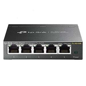 Switch Gigabit Manageable 5 ports TP-Link Easy Smart Switch TL-SG105E