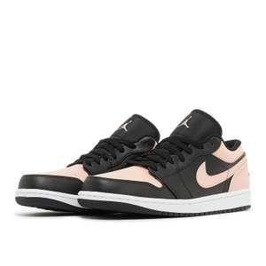 Chaussures Nike Air Jordan 1 Low Crimson Tint - noir/rose (du 42 au 45) - Solebox.com
