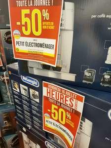 50% offerts en bon d'achat sur le Petit Electroménager (hors exclusions & promotion, offre limitée à 2 produits par foyer) - Paris (75)