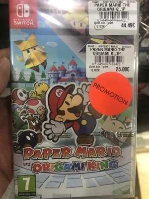 Jeu Paper Mario sur Nintendo Switch - Leclerc La Pardieu (63)