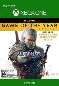 The Witcher 3 : Wild Hunt - Game of the Year Edition sur Xbox One & Series X|S (Dématérialisé - Via VPN Argentine)